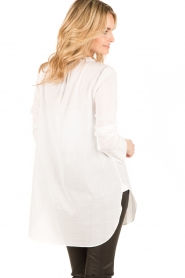 By Malene Birger | Blouse Tagoda | wit  | Afbeelding 5