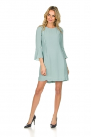 Patrizia Pepe |  Dress Ariana | light blue  | Picture 3