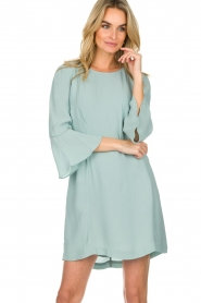 Patrizia Pepe |  Dress Ariana | light blue  | Picture 4