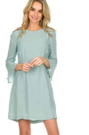 Patrizia Pepe |  Dress Ariana | light blue  | Picture 2