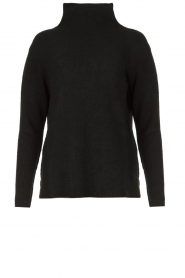 Be Pure |  Soft turtleneck sweater Alice | black  | Picture 1