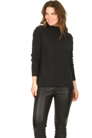 Be Pure |  Soft turtleneck sweater Alice | black  | Picture 4