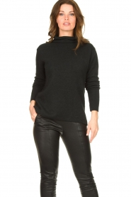 Be Pure |  Soft turtleneck sweater Alice | black  | Picture 5