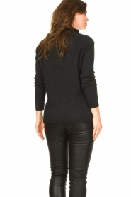 Be Pure |  Soft turtleneck sweater Alice | black  | Picture 7