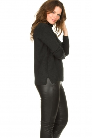 Be Pure |  Soft turtleneck sweater Alice | black  | Picture 6