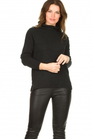 Be Pure |  Soft turtleneck sweater Alice | black  | Picture 2