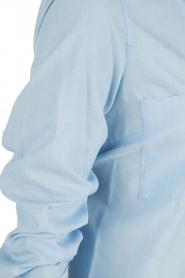 By Malene Birger | Lange blouse Hanafrida | blauw  | Afbeelding 5