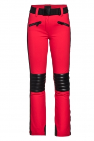 Goldbergh |  Skibroek Rocky | red  | Picture 1