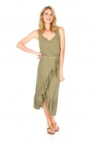 Blaumax |  Linen cami Madrid | green  | Picture 6