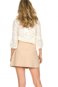Patrizia Pepe |  Skirt Rachelle | beige  | Picture 5