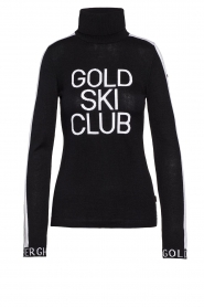 Goldbergh    Knitted sweater with turtleneck Club   black    Picture 1