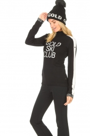 Goldbergh    Knitted sweater with turtleneck Club   black    Picture 5