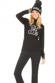 Goldbergh    Knitted sweater with turtleneck Club   black    Picture 4