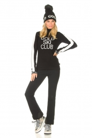 Goldbergh    Knitted sweater with turtleneck Club   black    Picture 3