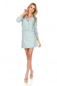 Patrizia Pepe |  Skirt Rachelle | blue  | Picture 3