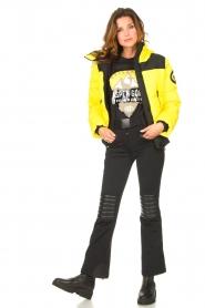 Goldbergh |  Ski sweater with sequins Aspen | black  | Picture 3