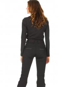 Goldbergh |  Ski sweater with sequins Aspen | black  | Picture 6