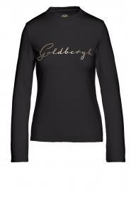 Goldbergh    Cotton sweater Stone   black     Picture 1
