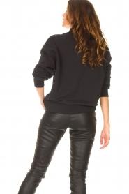 Goldbergh    Cotton sweater Stone   black     Picture 7