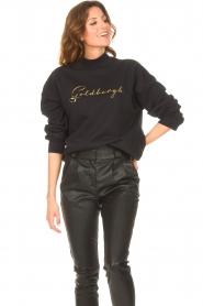 Goldbergh    Cotton sweater Stone   black     Picture 5