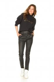 Goldbergh    Cotton sweater Stone   black     Picture 3