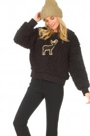 Goldbergh    Teddy sweater Deer   black    Picture 6