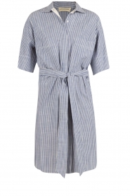 By Malene Birger |  Blouse dress Olali | blue  | Picture 1