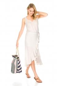 Blaumax |  Linen skirt Singapur | beige  | Picture 3