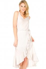 Blaumax |  Linen skirt Singapur | beige  | Picture 4