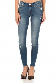 7 For All Mankind | Skinny jeans The Skinny | blauw  | Afbeelding 2