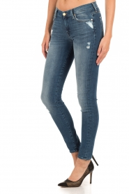 7 For All Mankind | Skinny jeans The Skinny | blauw  | Afbeelding 4
