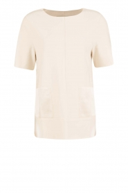By Malene Birger | Top Hejdis | crème wit  | Afbeelding 1