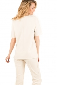 By Malene Birger | Top Hejdis | crème wit  | Afbeelding 5