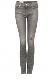 7 For All Mankind | Midrise jeans Roxanne lengtemaat 32 | grijs  | Afbeelding 1