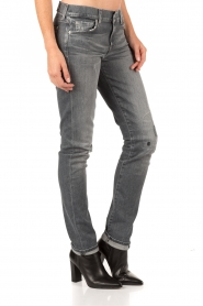 7 For All Mankind | Midrise jeans Roxanne lengtemaat 32 | grijs | Afbeelding 4