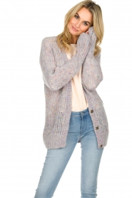 Patrizia Pepe |  Knitted cardigan Barbera | multi  | Picture 4