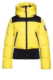 Goldbergh |  Down bomber jacket Boulder | yellow  | Picture 1