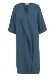 By Malene Birger | Asymmetrische jurk Hobbis | blauw | Afbeelding 1