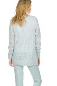 Patrizia Pepe |  Knitted cardigan Barbera | blue  | Picture 6