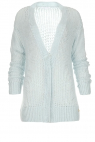 Patrizia Pepe |  Knitted cardigan Barbera | blue  | Picture 1