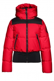Goldbergh |  Down bomber jacket Boulder | red  | Picture 1