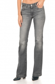7 For All Mankind | Flared jeans Charlize lengtemaat 32 | grijs   | Afbeelding 2