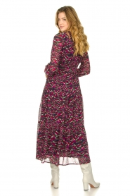 Louizon |  Maxi dress with print  Xylophone  | pink  | Picture 6