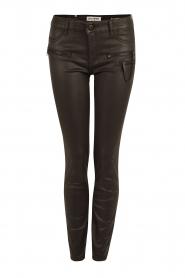 Coated pants Florance | black