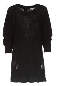 Patrizia Pepe |  Sweater Melanie | black  | Picture 1
