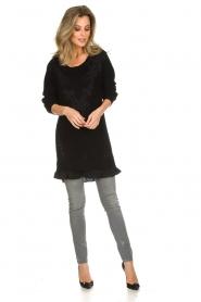 Patrizia Pepe |  Sweater Melanie | black  | Picture 3