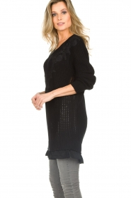 Patrizia Pepe |  Sweater Melanie | black  | Picture 6