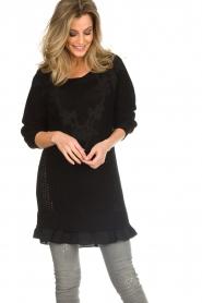 Patrizia Pepe |  Sweater Melanie | black  | Picture 5