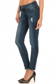 DL1961 | Skinny jeans Emma | blauw  | Afbeelding 4