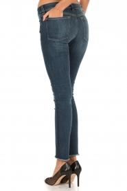 Skinny jeans Emma | blauw